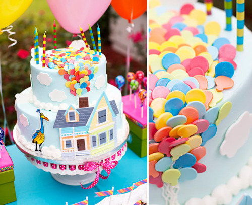 balloon, birthday, cake, cute, decoration - image #145322 ...