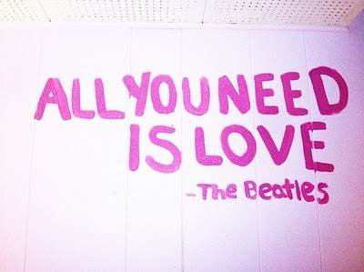 beatles, cool, love, pink, pretty, text, the beatles