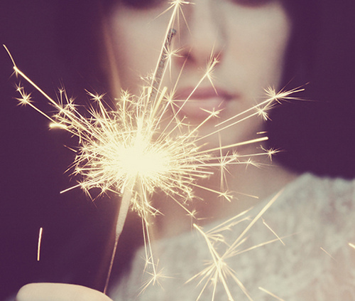 beautiful, cool, cute, firework, girl, photography, sparkle, sparkler, sparklers
