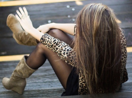 brunette, fashion, girl, hair, leopard, leopard print, photograph, photography, pretty, ring, style