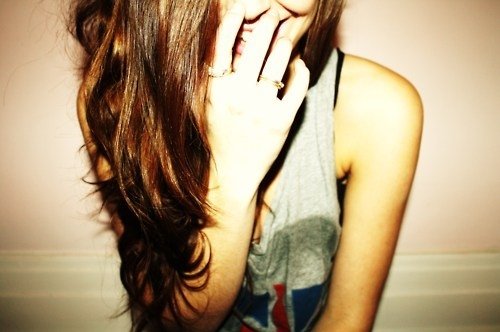 cool, fashion, girl, hair, laughing, pretty, style
