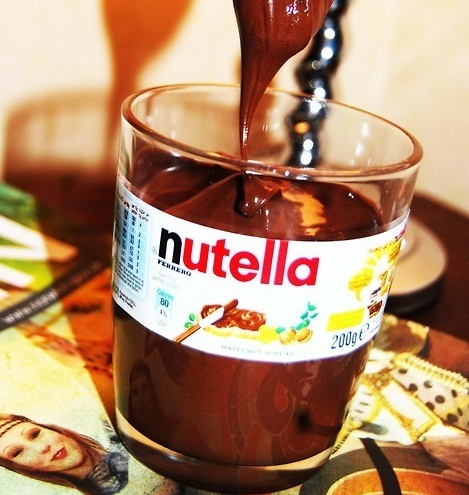 delicious, food, nutella, yum