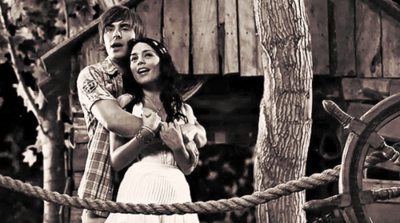 gabriella, high school musical 3, troy, troyella, vanessa hudgens