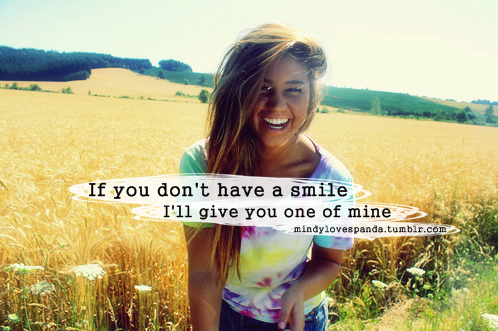 Be happy and smile quotes tumblr