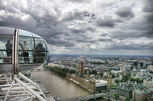amazing, beautiful, clouds, cool, london eye