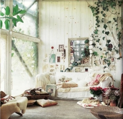 bohemian, couch, decor, easy, home - inspiring picture on Favim.