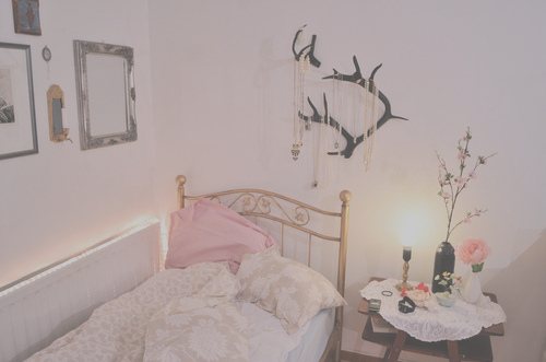 antlers beautiful bedroom light pink image 146041