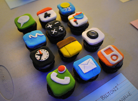 apps, cupcake, iphone, iphone cupcakes, mac