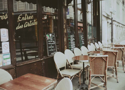 art, cafe, coffee, drink, europe, food, france, morning, photo, photography, pretty, vintage