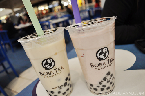 asian, boba, bubble tea, drink, pearls, straws, tea, yum