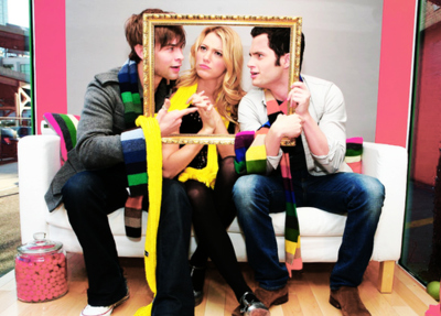 beautiful, blake lively, chace crawford, dan humphrey, friends