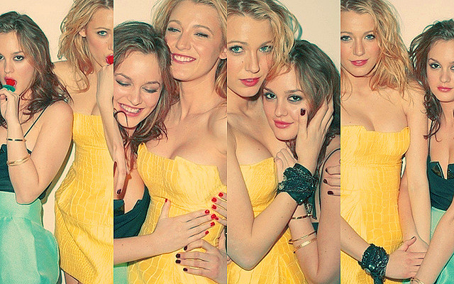 beauty, blake lively, friends, gossip girl, leighton meester