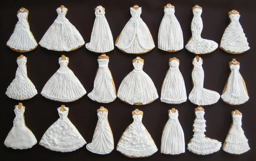 bride, cookies, dress, dresses, madamelulu, wedding, white