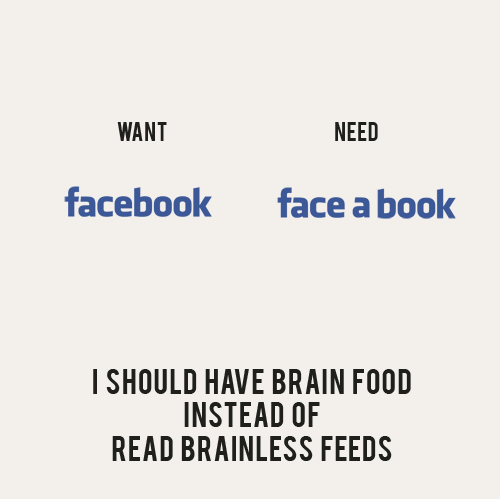 facebook, funny, quote, text, typography