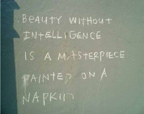 beauty, inspiration, intelligence, quote, typography