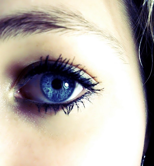 blue, eye, girl, lashes, make