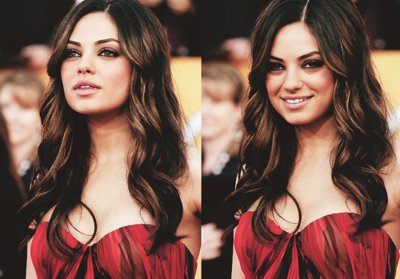 actress, beautiful, brunette, mila kunis