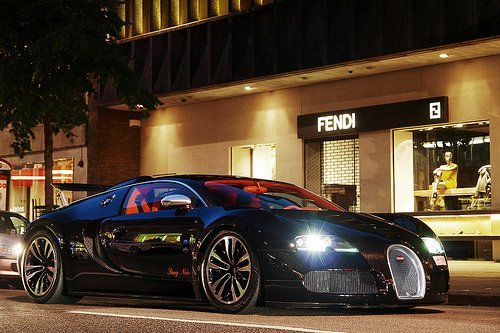 addiction, babiilov3, bugatti, car, cars, fast, leather, luxus, night, speed, spinners, stunning