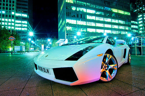 adrenalin, babiilov3, car, cars, hot, lalalla, lambo, lamborghini, speed, white lambo, white lamborghini