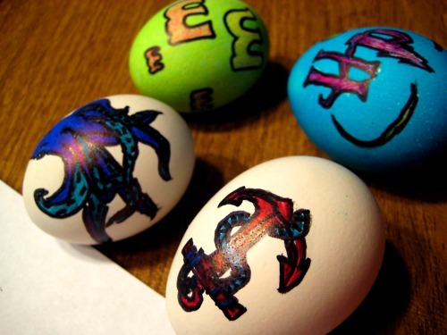 anchor, easter, eggs, m&m, octopus
