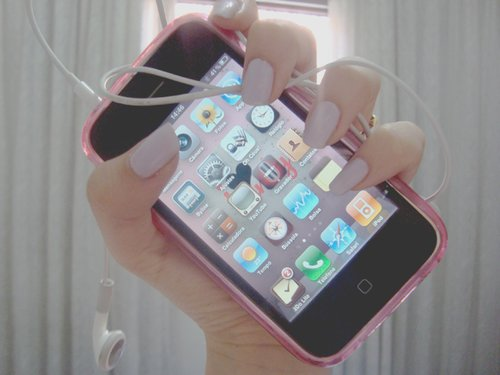 app, apple, cellphone, iphone, nails