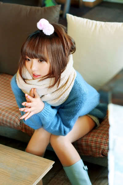 asian, cute, girl, hair, kawaii