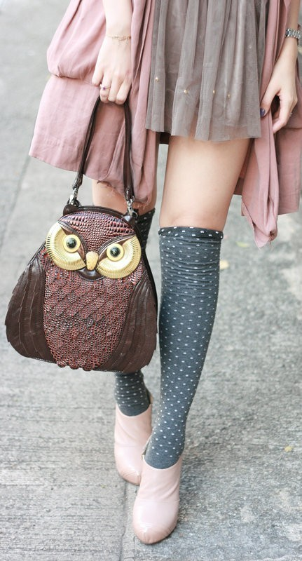 bags, fashion, girls, owl, photography