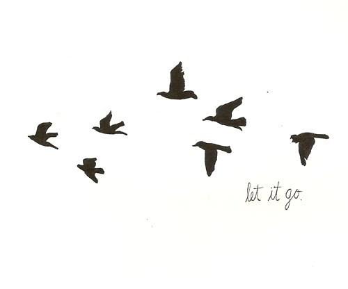 birds, black and white, draw, let it go, paint