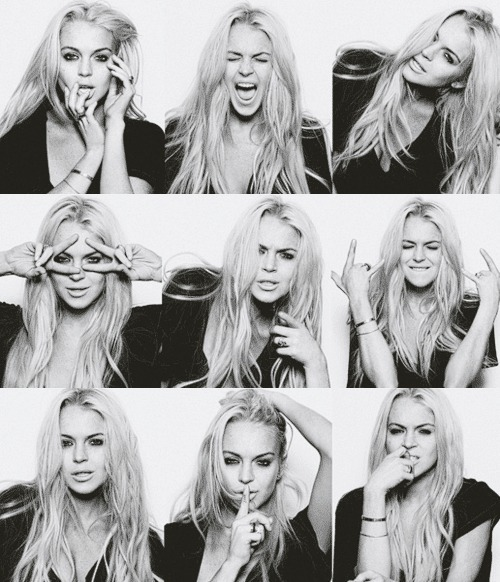 black and white, lindsay lohan, lindsy lohan