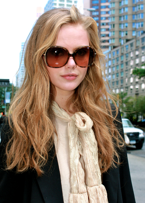blonde, fashion, frida gustavsson, girl, hair, model, sunglasses