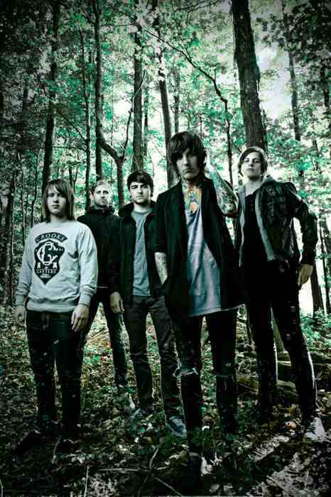 bmth, boys, bring me the horizon, cute, emo, forest, music, oli sykes