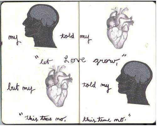 brain, heart, kings of leon, love, lyrics