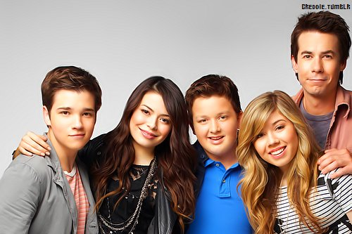 carly shay, freddie benson, gibby, icarly, jennette mccurdy, jerry trainor, miranda cosgrove, nathan kress, noah munck, sam puckett, spencer shay