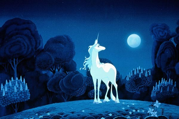 childhood movie, fantasy, the last unicorn, unicorn
