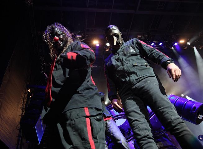 chris fehn, shawn crahan, slipknot