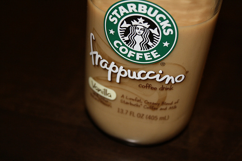 coffee, drink, frappuccino, starbucks