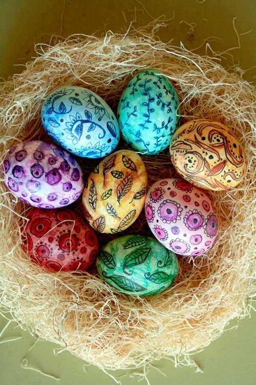colorful, easter, easter eggs, eggs