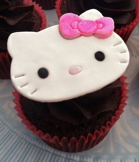 cupcake, cute, hausofcake, hello kitty, japan