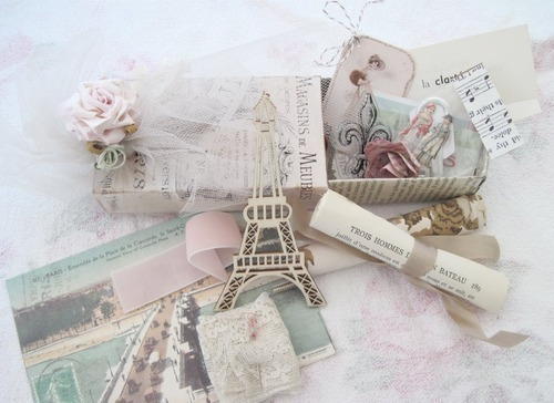 cute, glamour, la tour eiffel, notes, paris, pink, style, vintage, white