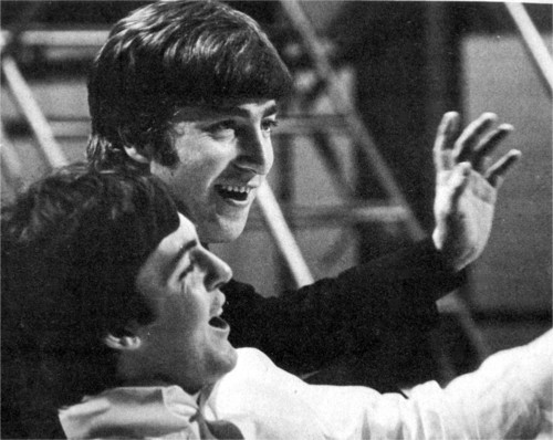 cuties, john and paul, john lennon, paul mccartney, the beatles