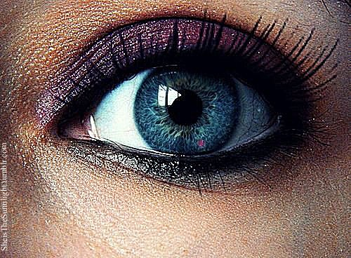 eye, eyes, glitter, makeup, miley cyrus