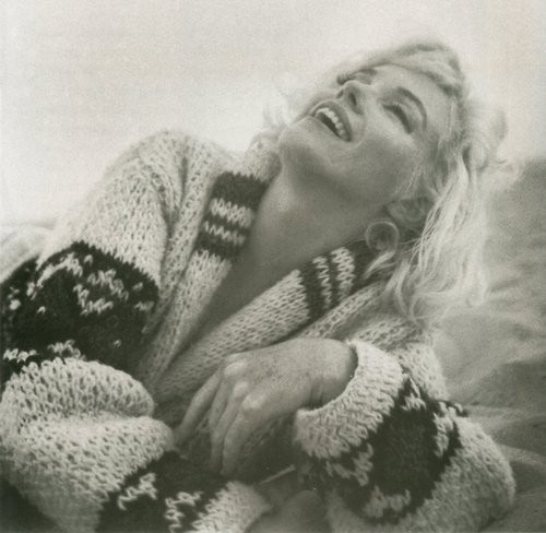 happy, laugh, marilyn monroe, smile