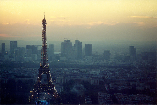 landscape, paris, photography, sunset
