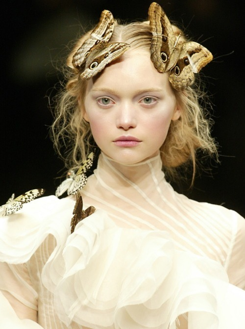 adorable, alexander mcqueen, beautiful, butterflies, fashion