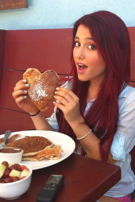 adorable, ariana grande, beauty, blue, blush, bracelets, brown, chocolate, cute, eat, eyes, food, fruits, funny, girl, hair, heart, heart love sweather, lips, long, love, make up, nails, nutella, pancakes, pink, pretty, red