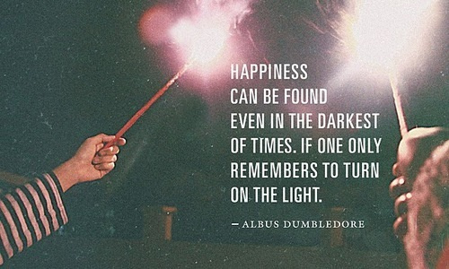 albus dumbledore, happiness, harry potter