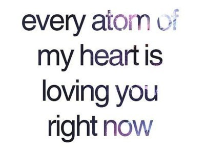 atom, heartbreak, love, quote, text