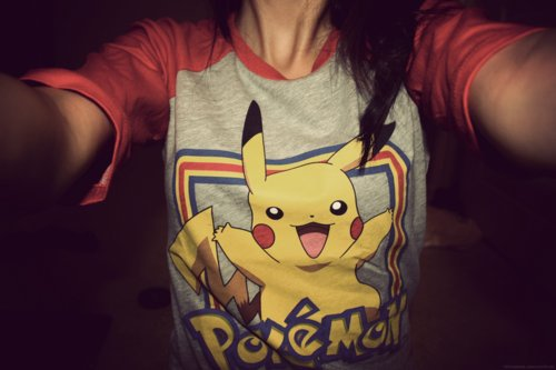 awesome, cute, fashion, girl, photography, pokemon, pokomon, shirt, teenager