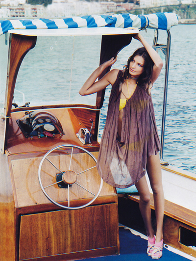 bathing suit, bikini, boat, daria werbowy, travel, vacation, yacht
