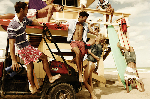 beach, boys, car, fun, girls, tommy hilfiger